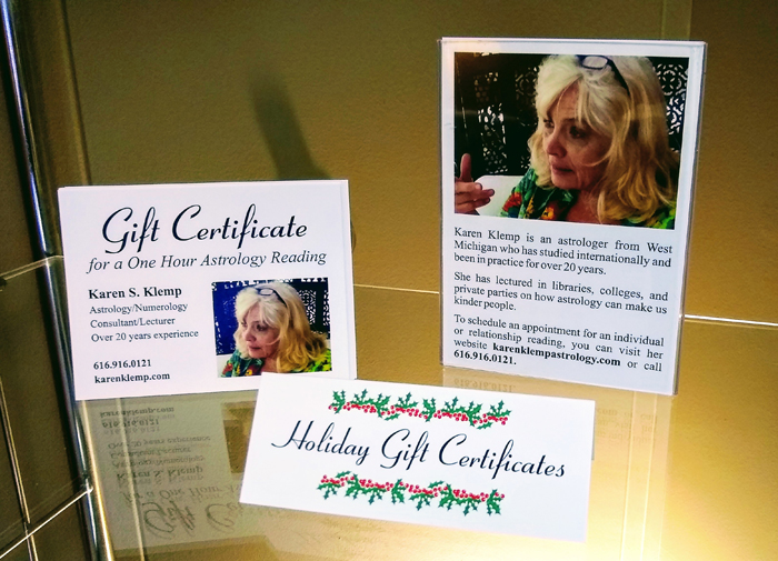 Psychic Reading Gift Certificates